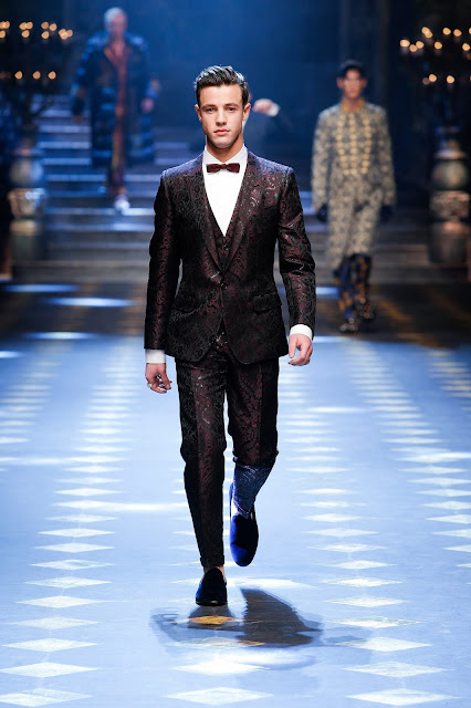 Cameron Dallas Dolce & Gabbana Fall Winter