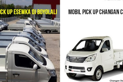 Pak Jokowi, Mobil Esemka Mirip dengan Pikap Asal China