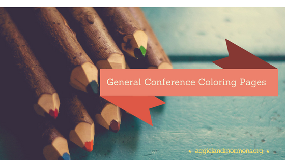 General Conference Coloring Pages - Aggieland Mormons