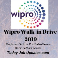 WIPRO Walk-in Drive 2019