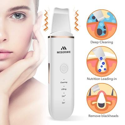 Miserwe Ultrasonic Skin Scrubber
