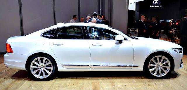 Volvo S90 T5 Momentum 2017 lado blanco