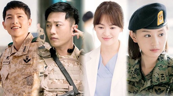 Drama Korea Romantis descendants of the sun