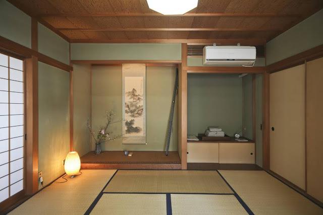 Penthouse Zen tradicional en Harajuku