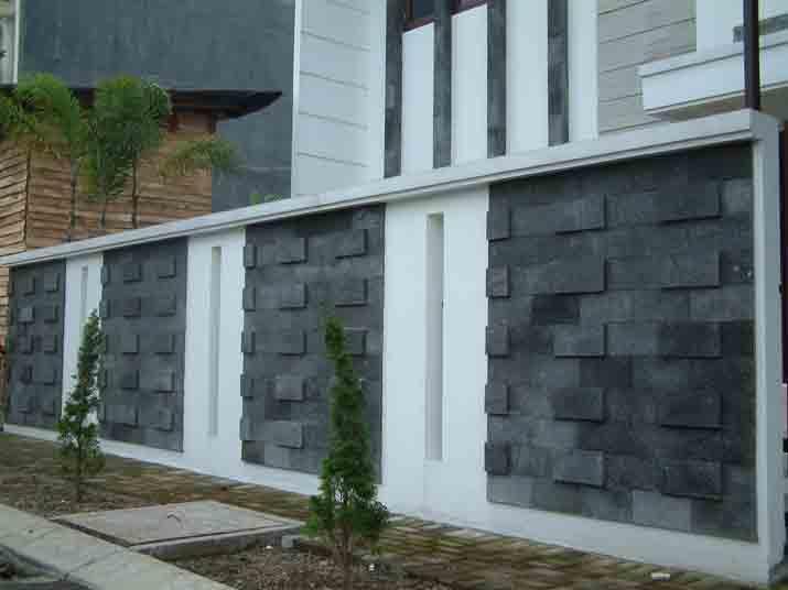 batu alam untuk dinding teras
