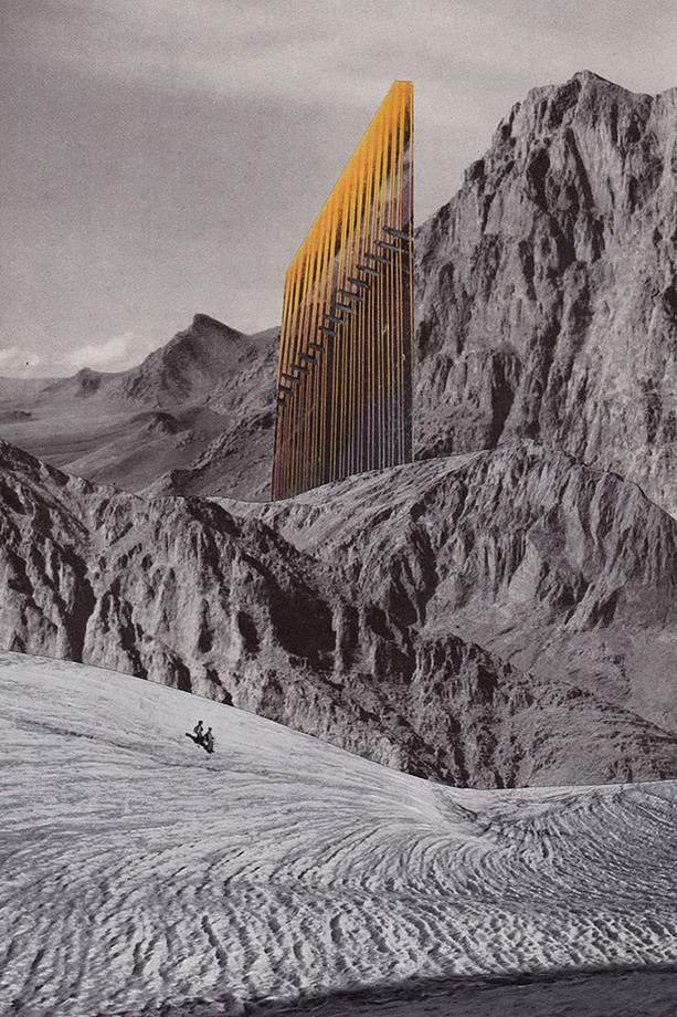 © Bene Rohlmann | Sightseers & Landscapes | Handmade Collage