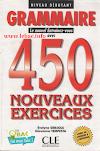 كتاب قواعد اللغة الفرنسية للتعلم ب 450 تمرين لمستوى المبتدئين