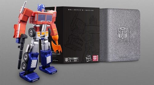 Transformers come to life in Optimus Prime
