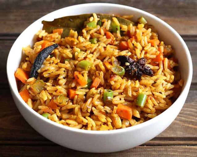 Veg Pulao recipe in hindi-पुलाव रेसिपी