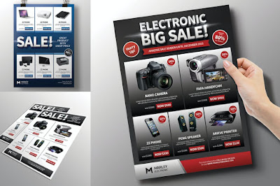 Contoh brosur produk elektronik