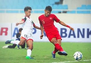 10 Pemain Indonesia Menang Dramatis 2-1 ata Brunei