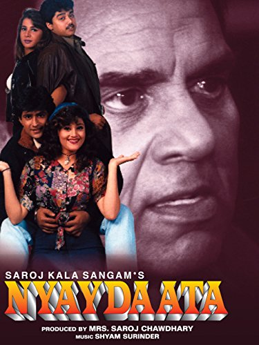 Poster of Nyaydaata (1999) Full Movie Hindi 720p HDRip Free Download