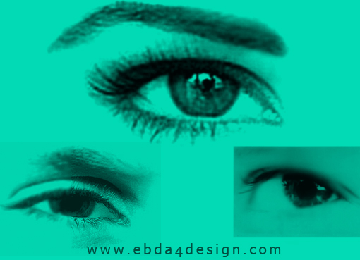تحميل فرش عيون للفوتوشوب مجاناً, Photoshop Brushs free Download, Eyes Photoshop Brushs free Download
