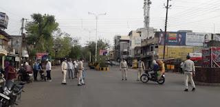 पेटलावद पुलिस प्रशासन, राजस्व प्रशासन तथा नगरीय प्रशासन द्वारा संयुक्त रुप से की जा रही चालानी कार्यवाही