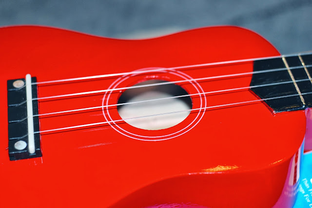 ukulele thick painted finish