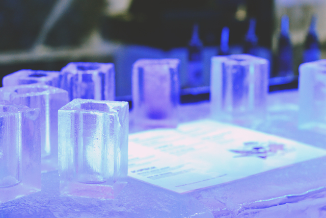 Ice Bar London Ice Glasses
