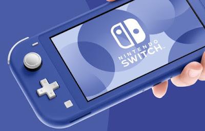 La nouvelle Nintendo Switch Lite Bleu