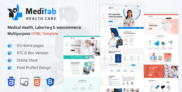 Best Hospital And Medical Multipurpose HTML Template
