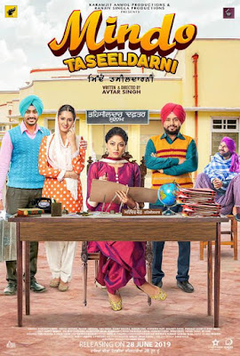 Mindo Taseeldarni 2019 Punjabi 480p WEB HDRip 350Mb x264