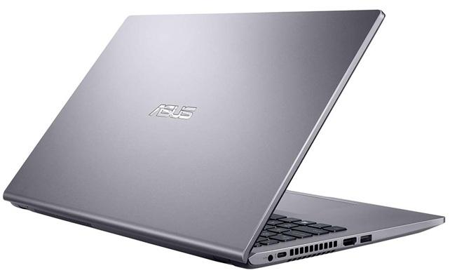 ASUS D509DA-BR128: portátil de acabado gris pizarra, con procesador Ryzen 3 y disco SSD de 128 GB