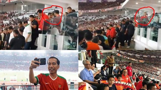 Viral! Tampang 'Kecut' Gubernur DKI Tak Diajak Naik ke 'Panggung Kemenangan' Persija Bersama Presiden Jokowi