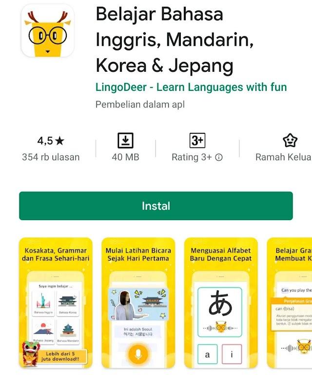 7 Aplikasi Gratis untuk Belajar Bahasa Jepang