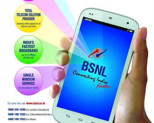 BSNL launched HD quality VoLTE services in Kerala, Tamil Nadu, Chennai, Karnataka, Andhra Pradesh and more cities are being added