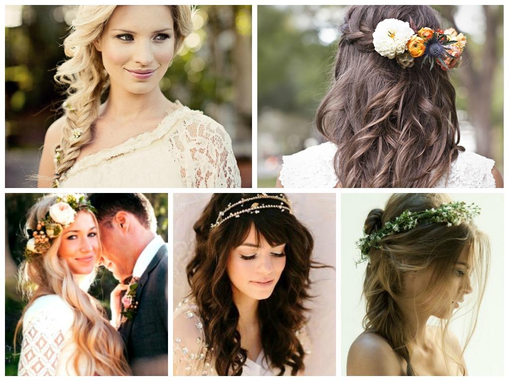 beautiful boho wedding hairdos for soon-to-be brides | hairstylo