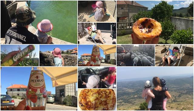 vacances au portugal, en famille, à montalegre, tras-os-montes