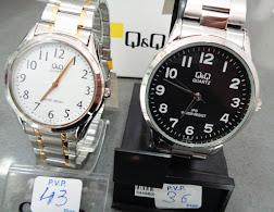 Nuevos relojes Q&Q Clásicos para caballero con pulseras de acero