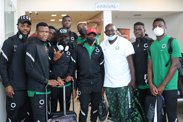 Super Eagles of Nigeria players