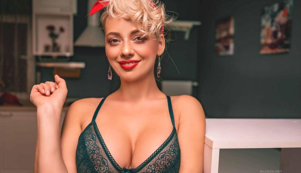 WildSexBlondy Model GlamourCams