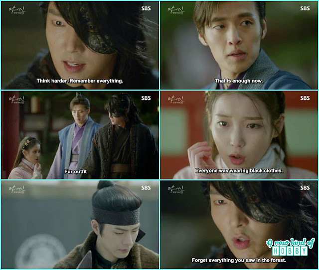 hae so told 4th prince 1 assassin wearing a fur coat  - Moon Lovers: Scarlet Heart Ryeo - Episode 3 Review