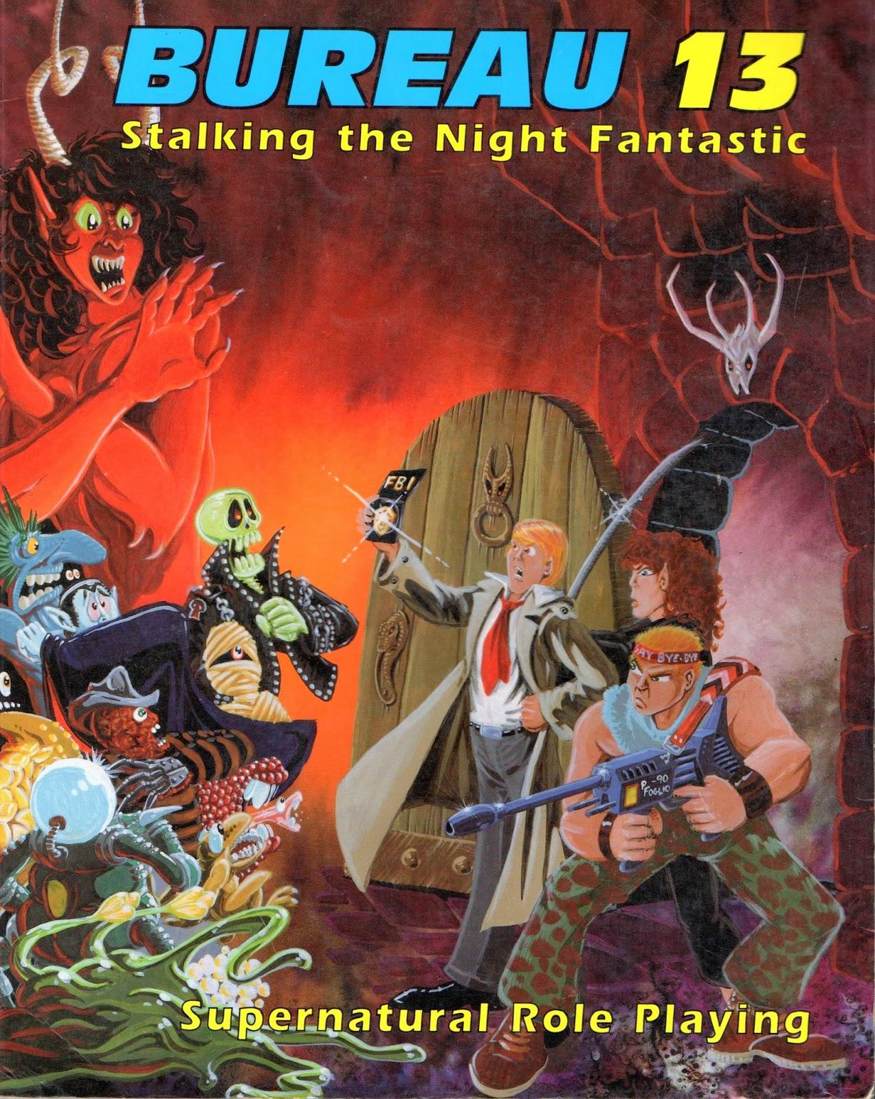Bureau 13 Stalking The Night Fantastic Pdf Writer