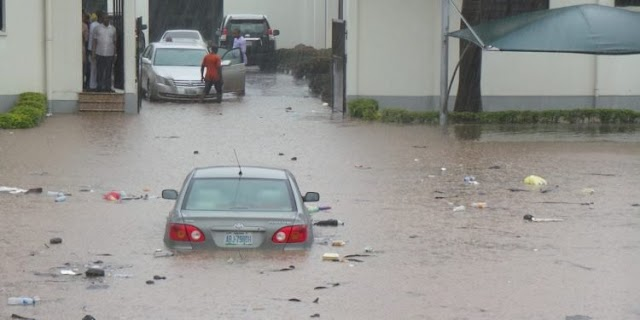 Abuja Court of Appeal flooded (photos)