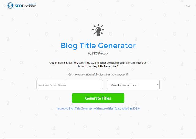 أفضل 7 مواقع لكتابة عنوان مقالة حصري وملفت للانتباه