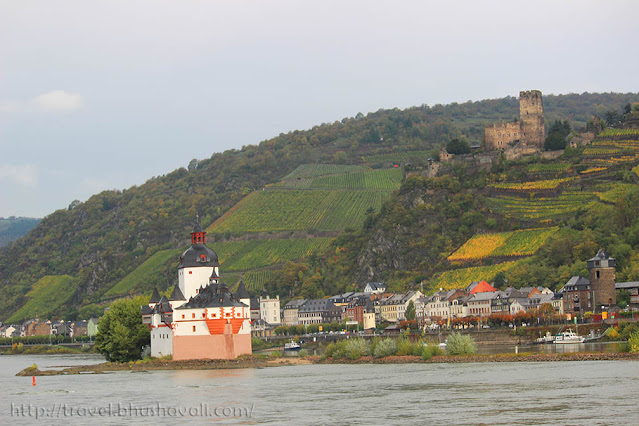 Rhine river castles - Pfalzgrafenstein castle