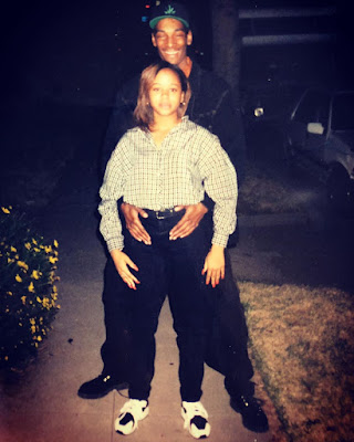 Snoop dog and wife throwback photos
