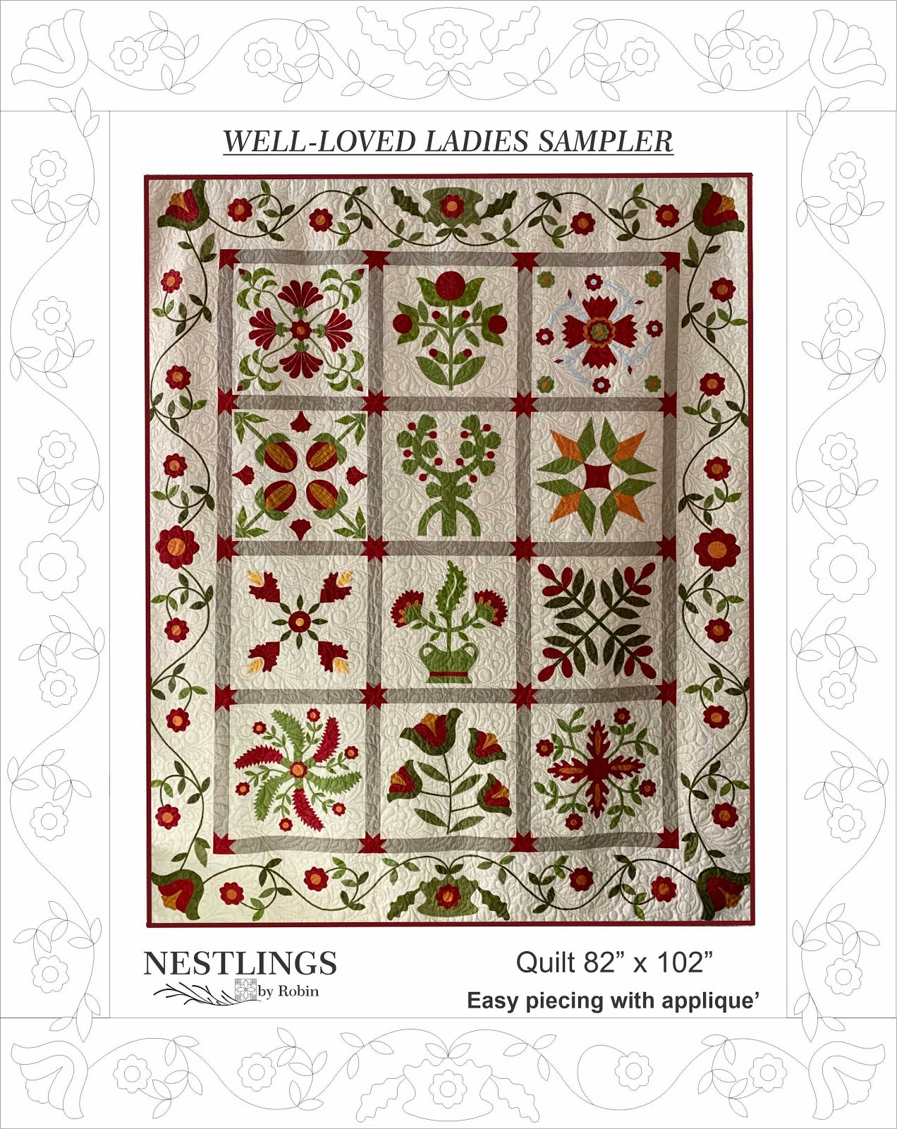 Well-Loved Ladies Sampler