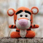 Amigurumi Tigger - FREE Crochet Pattern / Tutorial in ENGLISH ... | 150x150