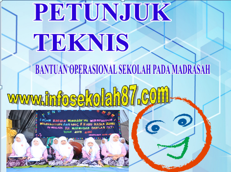 Download Juknis BOS Madrasah 2017