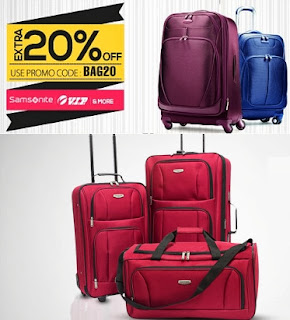 Flat 20% Extra Discount on Luggage at Snapdeal