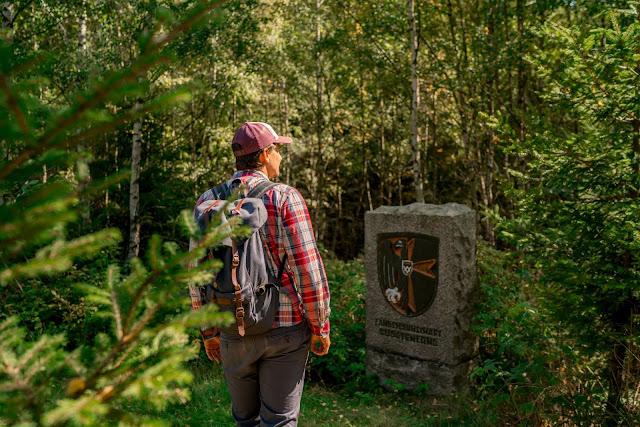 Rundwanderung zum Kreuz des deutschen Ostens | Wandern im Harz | Luchsgehege Bad Harzburg 08