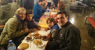 Marrakech, cenando en la Plaza Djemaa el Fna.