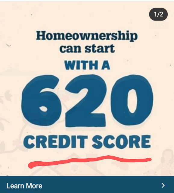 n order to get approved for most homes loans nowadays that are sold to FHA, VA, USDA, Fannie Mae and Kentucky Housing, you will need to have a 620 credit score for most programs, with FHA, USDA, and VA going