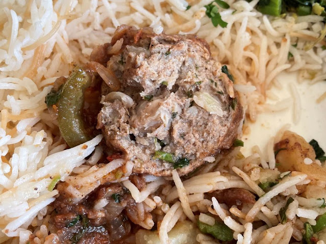 Dawood Basha with Chicken Meatballs