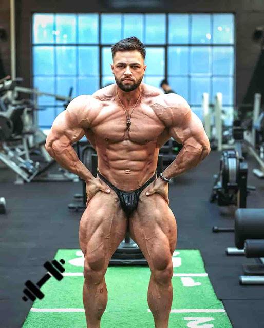 Bodybuilder Regan Grimes