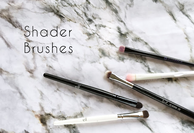 The 3 Essential Eyeshadow Brushes That You Need - shader brush