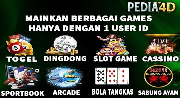 Banyak Games Di Pedia4D
