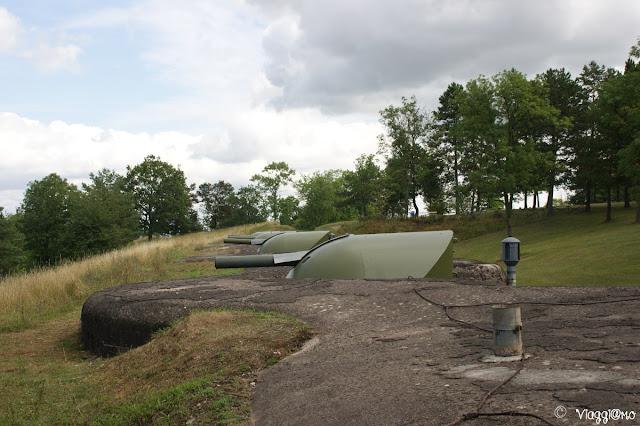 Postazioni di tiro al Forte di Mutzig